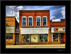GIFTS (the Gallopping Geezer '5.0' million + views....) Tags: sign mi canon store michigan business storefront signage hdr smalltown geezer 24105 2016 5ds
