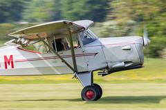 G-ASOM Beagle A.61 Series 2 (amisbk196) Tags: uk beagle kent flickr unitedkingdom aircraft aviation places amis series2 2016 a61 headcorn lashenden importedkeywordtags gasom