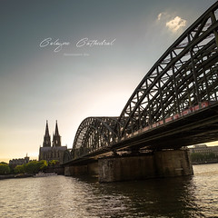 Cologne Cathedral (Mi Ko) Tags: bridge 3 train river germany deutschland cathedral dom sony iii kirche cologne eisenbahn kln unesco points 100 fluss vanishing bahn rhein koeln rx weltkulturerbe eisenbahnbrcke rx100 weltkultur