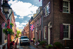 Like in the good old days. (Igor Danilov) Tags: street city uk usa english philadelphia out nikon britain great free center dslr unionjack nikond90 brexit