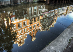 Reflections in Amsterdam (neilalderney123) Tags: travel water amsterdam architecture reflections canal 2016neilhoward