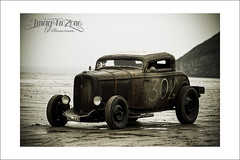 hot rod (Emmanuel DEPARIS) Tags: uk hot beach car race sand nikon track meeting rod pe emmanuel d500 pendine deparis