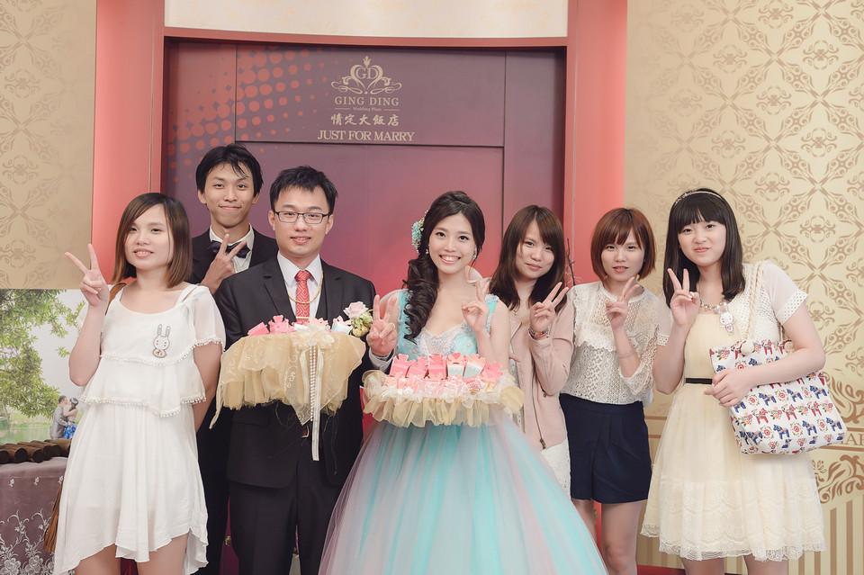 婚禮攝影-台南情定婚宴城堡永康館-87