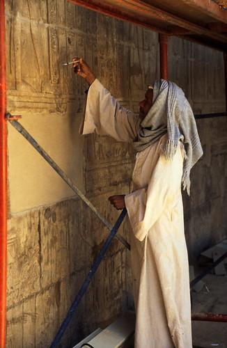 "Ägypten 1999 (178) Im Tempel von Edfu • <a style=""font-size:0.8em;"" href=""http://www.flickr.com/photos/69570948@N04/27582142720/"" target=""_blank"">View on Flickr</a>"