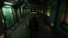 StarCitizen - Corridor to adventure @ Port Olisar (tend2it) Tags: arena commander ptu space sim simulation chris roberts sweetfx x64 64bit craft fighter crowd funded futuristic port olisar station outpost