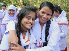 Female Students (D-Stanley) Tags: students bangladesh srimongal lawachara