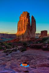 Pot Hole (Blue Falcon Foto) Tags: park arches national