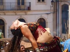 Marta (rgrant_97) Tags: coimbra medieval mediaeval feira fair bellydance dança dançaoriental marta