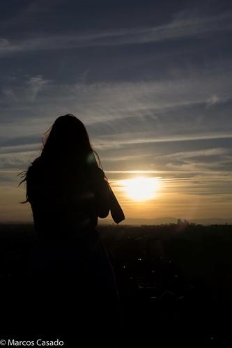 Sunset backinglight
