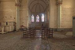 rooRoo (Don Mouth Urbex) Tags: church europe belgium belgique decay pigeon left exploration derelict explo urbex abandonn geschlossen abbandonata