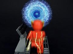 Cosmic Treadmill (MrKjito) Tags: travel speed comics dc force lego time space flash bricks super superhero minifig universe cosmic treadmill dimensions moc