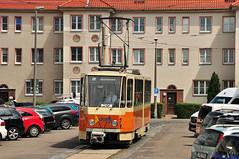 Tatra KT4D #1308 Historischer Straßenbahnhof Leipzig–Möckern LVB Leipzig Lipsk (3x105Na) Tags: germany deutschland tram leipzig sachsen strassenbahn tatra tramwaj lvb niemcy historischer 1308 lipsk kt4d saksonia strasenbahnhof leipzig–möckern