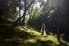 Fairy light (kate.burkholder) Tags: lighting girl beautiful woods pretty dress breath mysterious taking