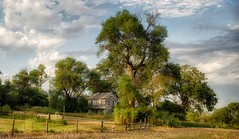 A Long Time Ago.... (Nutzy402) Tags: summertime house nikond5100 nebraska country olden old weathered