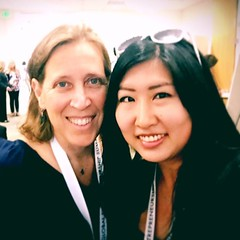 Susan Wojcicki, CEO of YouTube, knows women who went thru @Hackbright Academy! Loved hearing her entrepreneurial insights at #GES2016 (thisgirlangie) Tags: women susan who her went ceo academy loved hearing knows thru entrepreneurial youtube wojcicki insights hackbright ges2016