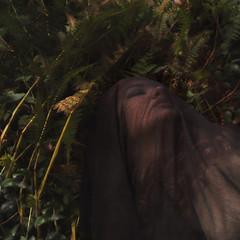 In Waiting (jocelyn meadows.) Tags: portrait woman girl mystery forest self woods veil jocelyn meadows surreal cloak conceptual
