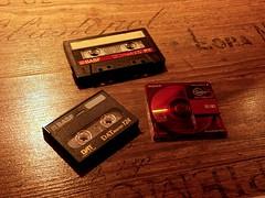 Old Fidelity (sebastian.seipp) Tags: tape hifi media minidisc minolta dimage a200