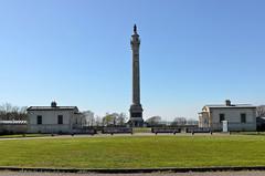 Boulogne-sur-Mer (Pas-de-Calais) - Wimille - Colonne de la Grande Arme avec ses pavillons (Morio60) Tags: 62 colonne napolon pasdecalais boulognesurmer wimille