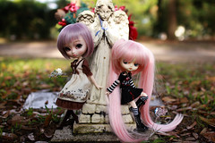Heaven's Little Angels (dreamdust2022) Tags: school cute sexy love girl smart rock loving riley hug doll pretty heart sweet innocent young mother dal virgin singer strong brave pullip charming middle pure darling playful cuddles grape tender poisongirl fearless