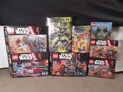 Lego.com Haul (6/26/16) (StarSaberSlash) Tags: fountain starwars lego free creator bionicle haul rebelalliance galacticempire carbonfreezingchamber battlepacks ikircreatureoffire obiwansjediinterceptor umarakthehunter droidescapepod