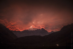 2016.0032 - Andes (Adriano Aquino) Tags: sunset red sky naturaleza sun nature argentina argentine clouds fantastic andes