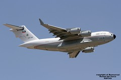 KAF343 LMML 03-07-2016 (Burmarrad) Tags: cn force aircraft air iii airline kuwait boeing globemaster registration c17a lmml f266 kaf343 03072016