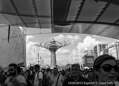 Expo 2015 @Milano (Lord Seth) Tags: 2015 d5000 lordseth alberodellavita bw biancoenero espozioneuniversale expo fontana italy milan milano nikon padiglioni