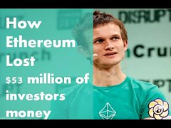 Ethereum Cryptocurrency Lost $53 Million of Investors Money (HopeGirl587) Tags: money lost million 53 investors ethereum cryptocurrency