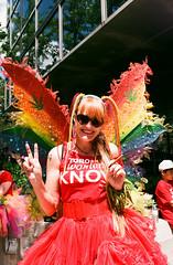 Toronto Women Know (Georgie_grrl) Tags: toronto ontario love smile butterfly costume wings community peace friendship pride celebration event pentaxk1000 flyinghigh crinoline lgbtq procannabis rikenon12828mm faaaaabulous torontopride2016