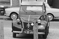 Citroën 2CV AZL TX-91-45 Groningen 1966 (Tuuur) Tags: citroën 1966 2cv groningen azl tuuur tx9145