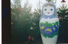 Russian Doll (Abitha_Arabella) Tags: france 35mm lomography doll 35mmfilm russian russiandoll