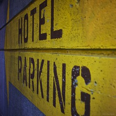 Hotel Parking (Paul Perton) Tags: street city urban vancouver square streetphotography cameraslenses