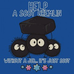Help A Soot Gremlin (ShirtRater) Tags: anime cute shirt movie studio t cool adorable tshirt daily miyazaki animation ghibli soot sprites cartoons gremlins tees hayao