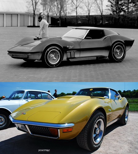 1965 Mako Shark II XP-830 = Corvette Stingray