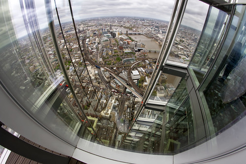 Its a long way down - The Shard