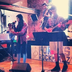 The spring session band, All Access is rocking the house with some pop tunes! Great job! #music #archstreet #greenwichct (ForbesMusic) Tags: county music white drums guitar piano violin cello strings plains nassau viola fairfield lessons westchester