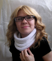 05 (kosha_knit) Tags: scarf knit cotton honey cowl 2013