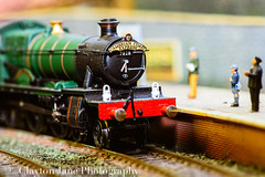 Model Railway (Clayton Jane photography) Tags: macro station train coast model railway monday cumbrian