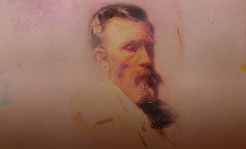 """Mentores, homenaje a Vincent van Gogh de Henri de Toulouse Lautrec (1887), y al padre de Pablo Picasso (1896). • <a style=""""font-size:0.8em;"""" href=""""http://www.flickr.com/photos/30735181@N00/8805102309/"""" target=""""_blank"""">View on Flickr</a>"""