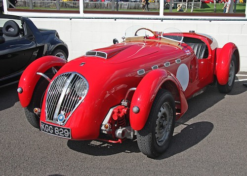 Healey silverstone by Brian Snelson Creative Commons