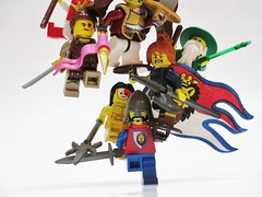 Balance (Julius No) Tags: 3 castle war king lego hill contest battle single balance category stud entry