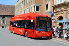 Reading  414 - YR13 PMV (Solenteer) Tags: reading 414 scania alexanderdennis gasbus readingtransport readingbuses enviro300 k230ub yr13pmv
