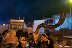 A shofar (horn) guy - איש השופר (Meir Naamat) Tags: portrait 50mm israel netivot babasali horn ישראל shofar פורטרט שופר נתיבות בבאסאלי הילולא הילולתהבבאסאלי