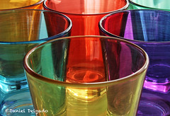 Roy G. Biv 2 (Danieldevad) Tags: light color reflection luz glass colors canon artistic creative colores reflejo vaso artistico creativo danieldelgado danieldevad danieldelgadophotography