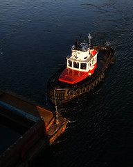 Charles Cates XX ~ Victoria's Upper Harbour (Chris City) Tags: ship victoria tugboat tugs barge seaspan