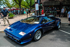 Lamborghini Countach (Rivitography) Tags: blue canon rebel italian connecticut fast exotic adobe t3 lamborghini rare countach lightroom westhartford 2013 concorsoferrariandfriends rivitography