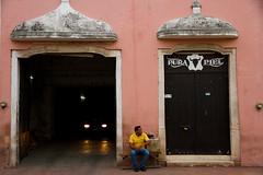 Pura Piel (francescadistefano) Tags: city color colour colors canon mexico pared is colours colonial yucatan minimal valladolid mexican more 7d minimalism parete less messico mehico canoneos7d canon1585mm francescadistefano