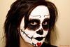 Lady Death (lady_blue_andorra) Tags: portrait selfportrait dayofthedead dead mask autoretrato makeup canon1785mm canon50d