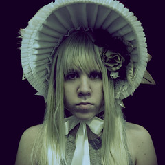 (meganmariebishop) Tags: girls cute girl beautiful hat portraits women gothic victorian feathers hats megan artnouveau fancy burlesque bishop headband headdress gatsby steampunk millinery headpiece fascinator meganbishop apatico meganmariebishop meganbishoptookthispicture