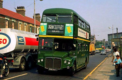 RMC 1502 At Work (colinfpickett) Tags: road street traffic busy routemaster esso lt rmc rm aec